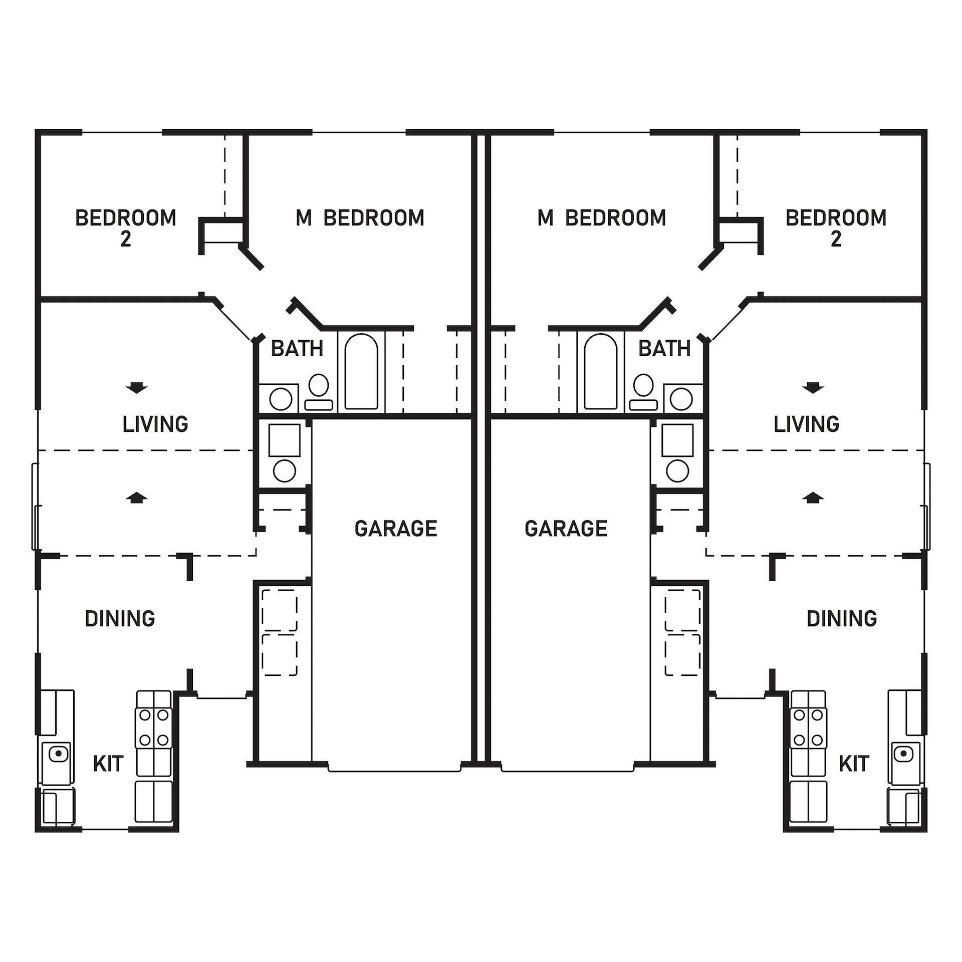 Floor Plan: 1664